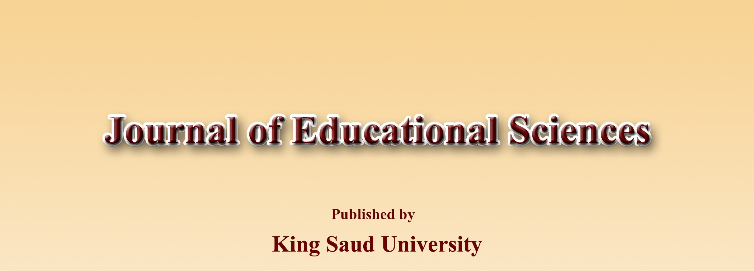 Journal of Educational Studies - Journal of Educational Studies